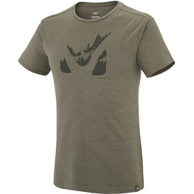 Millet Akna Wool - T-shirt manches courtes Homme - beige